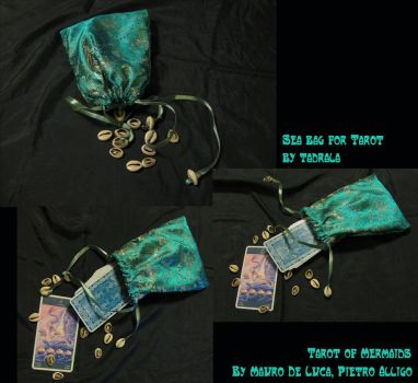 Sea Bag for Mermaid Tarot by tadrala