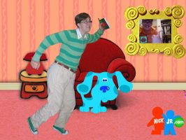 Blue's Clues Alternate Universe by ShellMinded
