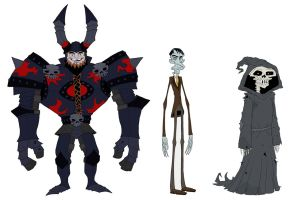 The Ones Character Designs by Axel13-Gallery