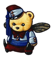 Beelzebear by Qsy-and-Acchan