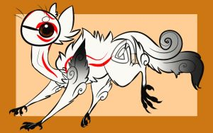 Amaterasu related Flook auction OPEN by Girryy
