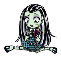 Frankie Monster High Chibi by AmberStoneArt