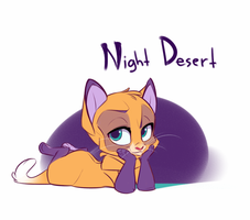 Night Desert by xepxyu