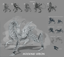 Creature Concept- Mocking Vreon by niaryusuke