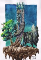 A castle in the sky by brunoces
