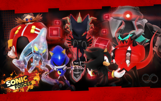 Sonic Forces: Villains Wallpaper by Nibroc-Rock