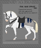 Pink Nova Dragon Tack by horsy1050