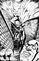 Spawn Lucky 13 Contest Submission Inked by RAM by ramstudios1