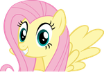 Fluttershy vector - May the best pet win - Smile by Vulthuryol00