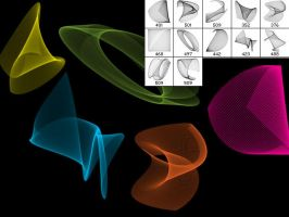 A3D Sine Brushes Set 10 by angela3d