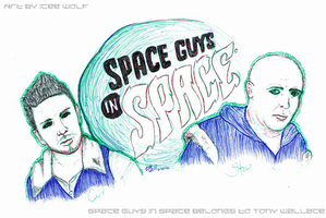 Space Guys in Space by ICEEWolf
