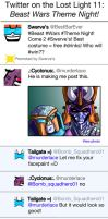 Twitter on the Lost Light 11: BW Theme Night! by TheButterfly