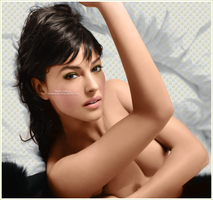 Monica Bellucci Color by marinameira