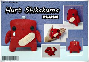 Hurt Shika-kuma Plush by SongAhIn