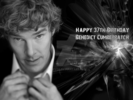Happy 37th Birthday Benedict Cumberbatch by tjevo9