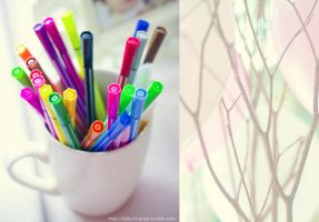 colors in a cup by holamiamor