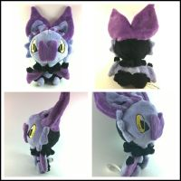 pokedoll style noibat by LRK-Creations