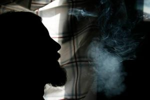 smoke sillhouette by FigoTheCat
