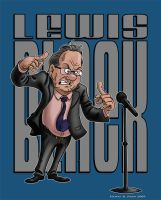 Lewis Black by Hen-Hen