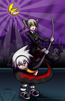 Soul and Maka by Scorchie-Critter