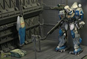 Duel Gundam Assault Shroud by neueziel