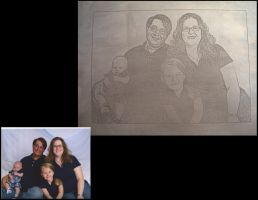 Family Photo by creativeetching