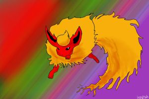 Flareon Speedpaint by LackadaisicalLeopah