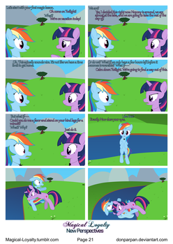 Magical Loyalty - New Perspectives Page 21 by WaveyWaves