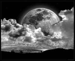 . Rising Moon by ellen0ir