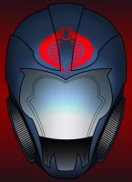 Cobra Commander helmet redesign by Balsavor