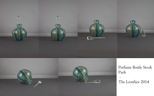 Perfume Bottle Stock Pack by The-Lionface