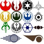 Star Wars Symbol Custom Shapes by Tensen01