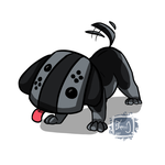 Nintendo Switch Puppy by BKcrazies0