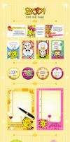ZOO Pack Design Cards by sc-design