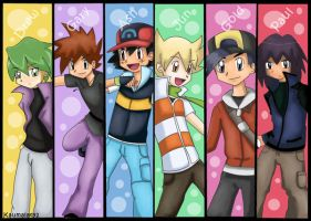 Pokemon Boys by Km92