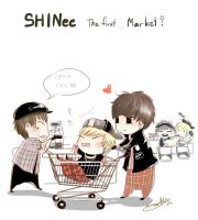 SHINee the first... by KnotBerry