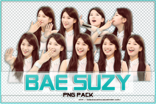 [PNG PACK #059] Bae Suzy by babykidjenny