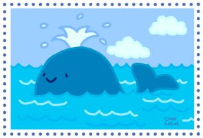 Whale Blue by Colax