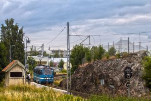Talludden Station by JRL5
