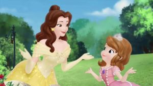Sofia and Belle by montey4