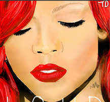 Rihanna on DS2 by MsTemmii