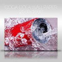 Coca Cola Can Wallpaper by NKspace