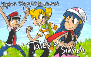 Nuzlocke Diamond: Cover by ky-nim