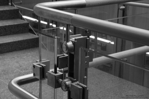 Science Building Railing by MaxCooper67