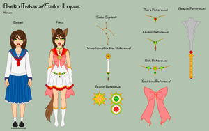SM - Aneko Reference Sheet by porcelian-doll