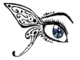 Butterfly Eye by Fensy