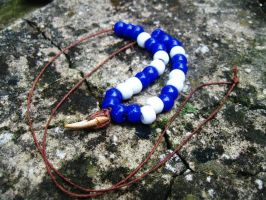 Crayfish Claw bead necklace 1 by SpiderMilkshake