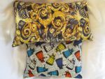 Doctor Who throw pillows by P-isfor-Plushes