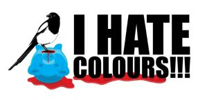 I hate colours 6 by psychodiagnostic