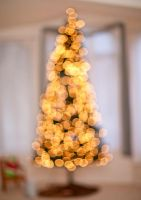 Merry Christmas Bokeh Tree by Hatch1921